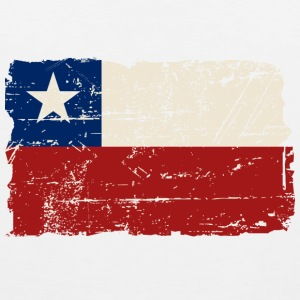 Chile Flag - Vintage Look