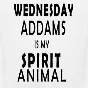 Wednesday Addams is my Spirit animal - Men's Premium Tank Top
