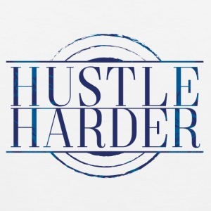 Hustle-Harder - Mannen Premium tank top