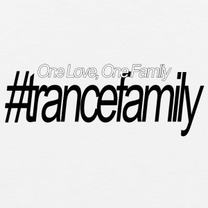 One Love, One Family, #trancefamily - Mannen Premium tank top