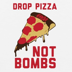 DROP PIZZA - Herre Premium tanktop