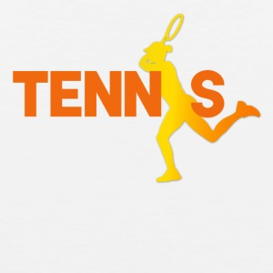 tennisspiller - Premium singlet for menn