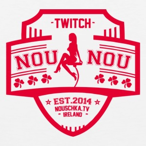 Nouschkasplay Team logo Twitch Pink_01 - Men's Premium Tank Top