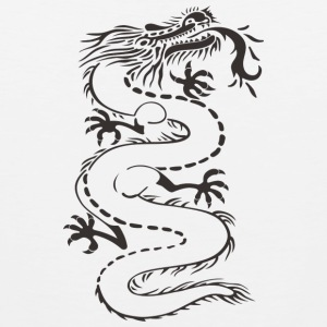 Mythical Chinese dragon - Men's Premium Tank Top