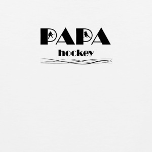 Papa Hockey 5 - Men's Premium Tank Top