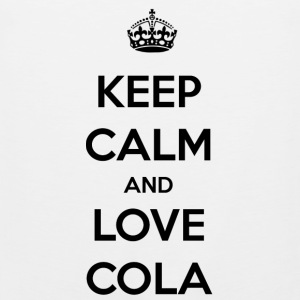 Cola. The feeling of an icy cold cola / gift - Men's Premium Tank Top