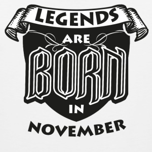 Birthday November Legends born gift Gebu - Men's Premium Tank Top