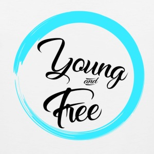 Young and Free - Men's Premium Tank Top