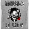 music is life - Débardeur Premium Homme