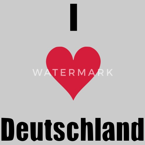 I Herz Deutschland Geschenk Geburtstag Herz Liebe Manner Premium