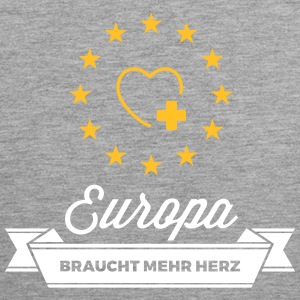 Europe Needs More Heart! - Men's Premium Tank Top