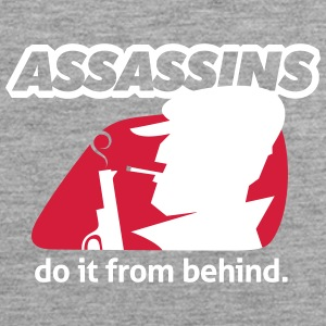 Assassin Do It From Behind, Älä Joke Around. - Miesten premium hihaton paita
