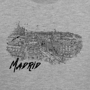 Madrid - City - City - Men's Premium Tank Top