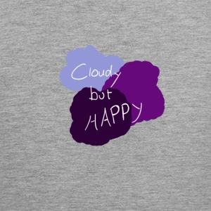 Cloudy but happy - Men's Premium Tank Top