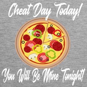 Low Carb Cheat Day Pizza koolhydraten dieet ketogeen - Mannen Premium tank top