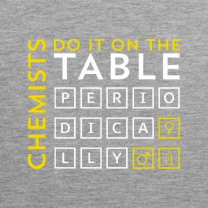 Chemist do it on the table periodically Geschenk - Männer Premium Tank Top