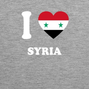 i love home gift country SYRIA - Men's Premium Tank Top