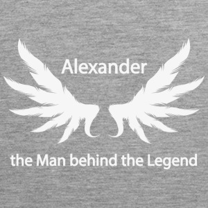 Alexander the Man behind the Legend - Men's Premium Tank Top