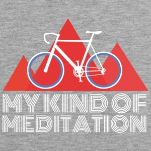 Rennrad Meditation Mountain - Männer Premium Tank Top