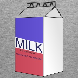 milk - Men's Premium Tank Top