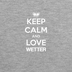 Keep Calm and love WEATHER - Men's Premium Tank Top