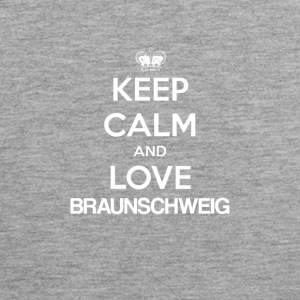 Keep Calm and Love BRAUNSCHWEIG - Men's Premium Tank Top
