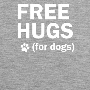 Free hugs for dogs hund dog mother - Männer Premium Tank Top
