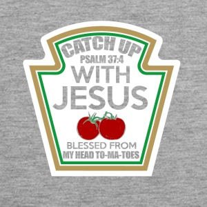 Catch up with Jesus - Men's Premium Tank Top