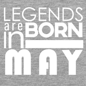 Legends are born in May - Männer Premium Tank Top