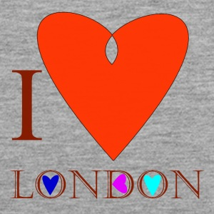 I Love London A - Men's Premium Tank Top