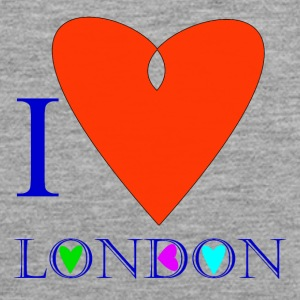 I Love London B - Men's Premium Tank Top