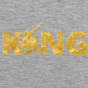 Skateboard King Gold Skater - Männer Premium Tank Top