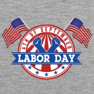 LABOR DAY Monday 4th of September American Patriot - Männer Premium Tank Top