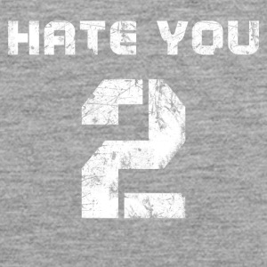 hate you too - Männer Premium Tank Top