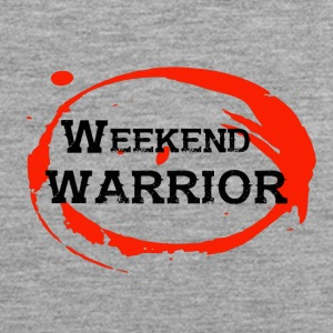 Shirt Weekend Warrior Weekend Party - Tank top męski Premium