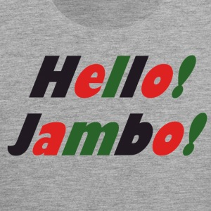 Hello Jambo - Men's Premium Tank Top
