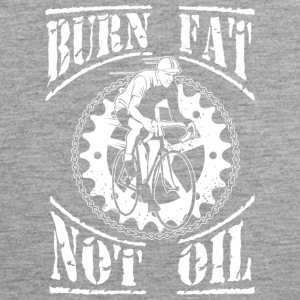 Burn fat, not oil. - Men's Premium Tank Top