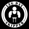 Leg Day Skipper - Männer Premium Tank Top