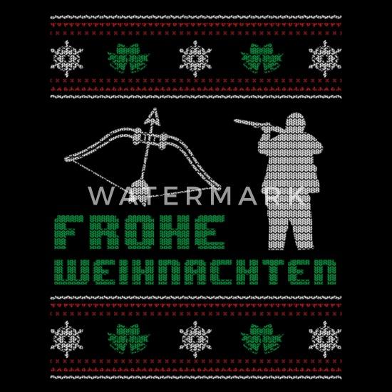 Frohe Weihnachten Jager.Lustiges Jagen Jager Shirt Frohe Weihnachten Manner Premium Tanktop