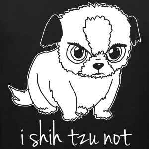 i shih tzu not - Men's Premium Tank Top