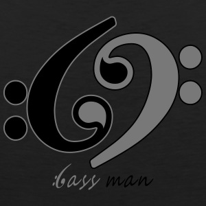 Bass Man - Men's Premium Tank Top