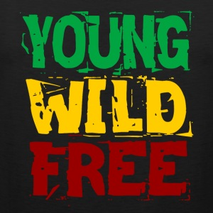 Young Wild Free - Men's Premium Tank Top