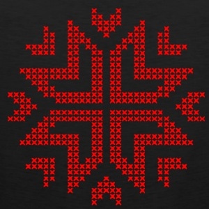 Christmas star knitted ugly christmas sweater - Men's Premium Tank Top