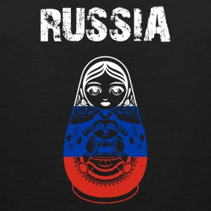 Nation-Design Russia Matryoshka - Männer Premium Tank Top