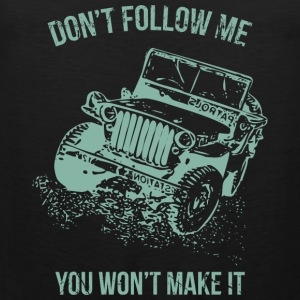 Follow Me Jeep Car - Men's Premium Tank Top