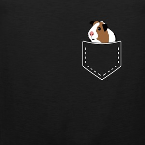 Guinea pig guinea pig rodents gift - Men's Premium Tank Top