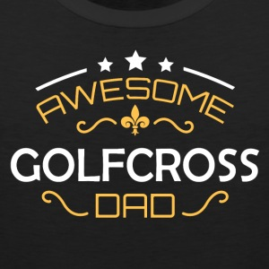Golf Cross pappa - Premiumtanktopp herr