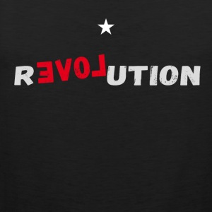 revolution star Love demonstartion - Männer Premium Tank Top