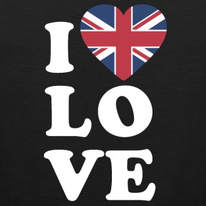 I love England - Men's Premium Tank Top