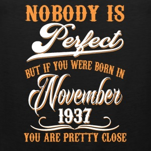 If You Born In November 1937 - Men's Premium Tank Top